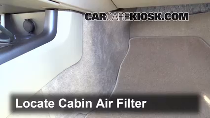 Cabin Filter Replacement Nissan Murano 2009 2014 2009