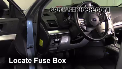 interior fuse box location 2010 2014 subaru outback 2012 subaru interior fuse box location 2010 2014 subaru outback 2012 subaru outback 2 5i premium 2 5l 4 cyl