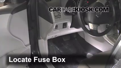 interior fuse box location 2009 2013 toyota corolla 2012 toyota interior fuse box location 2009 2013 toyota corolla 2012 toyota corolla le 1 8l 4 cyl