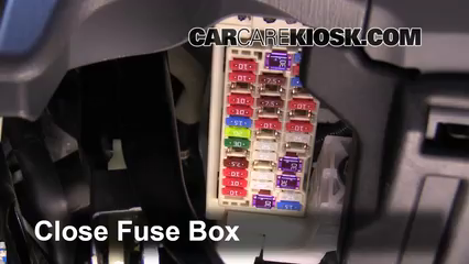 toyota prius fuse box location interior fuse box location: 2012-2016 toyota prius v ... #8