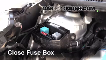 replace a fuse 2012 2016 toyota yaris 2012 toyota yaris l 1 5l 6 replace cover secure the cover and test component