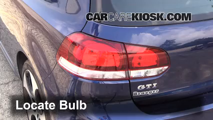 how to change brake light in a 2014 vw tiguan