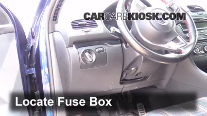 Fuse Interior Part 1 interior fuse box location 2006 2014 volkswagen gti 2006,2004 Vw Golf Gti Fuse Box Diagram