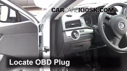 Engine Light Is On: 2012-2016 Volkswagen Passat - What to Do - 2012 Volkswagen Passat S 2.5L 5 ...