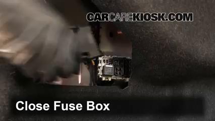 interior fuse box location 2011 2016 volvo s60 2012