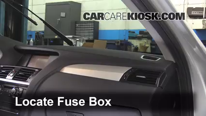 Interior Fuse Box Location 2011 2016 BMW X3 2013 BMW X3