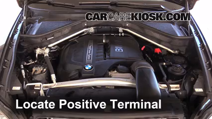 how to jumpstart a 2007 2013 bmw x5 2013 bmw x5 xdrive35i 3 0l 6 cyl turbo. Black Bedroom Furniture Sets. Home Design Ideas