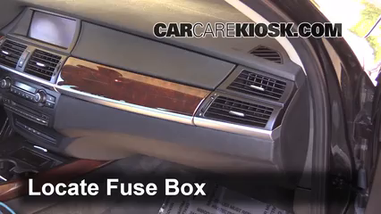 interior fuse box location 2007 2013 bmw x5 2013 bmw x5 interior fuse box location 2007 2013 bmw x5 2013 bmw x5 xdrive35i 3 0l 6 cyl turbo