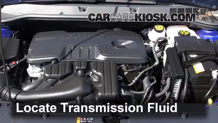 2013 chevy sonic transmission fluid type