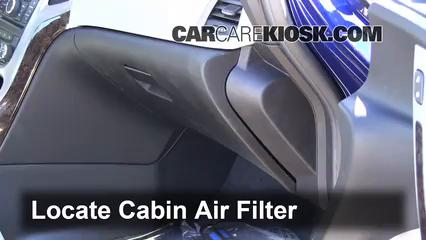 2012-2014 Buick Verano Cabin Air Filter Check - 2013 Buick ...