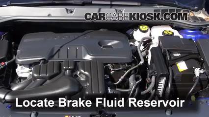 Add Brake Fluid 2011 2016 Chevrolet Cruze 2011