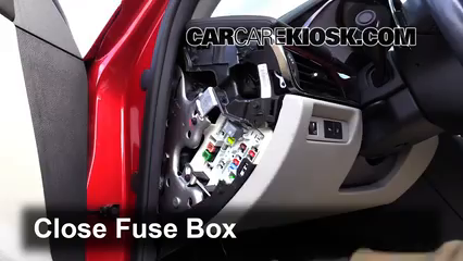 Interior Fuse Box Location     2013   2016    Cadillac       ATS        2013