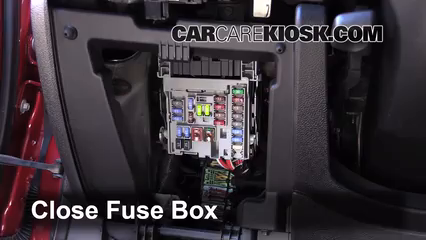interior fuse box location 2013 2013 chevrolet malibu. Black Bedroom Furniture Sets. Home Design Ideas