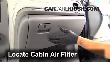2013 2016 Chevrolet Traverse Cabin Air Filter Check 2013