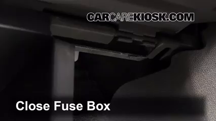 interior fuse box location 2013 2016 chevrolet traverse. Black Bedroom Furniture Sets. Home Design Ideas