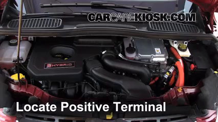 How to Jumpstart a 2013-2016 Ford C-Max - 2013 Ford C-Max Hybrid SEL 2.0L 4 Cyl. & How to Jumpstart a 2013-2016 Ford C-Max - 2013 Ford C-Max Hybrid ... markmcfarlin.com
