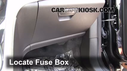 interior fuse box location 2013 2016 ford c max 2013 ford c max locate interior fuse box and remove cover