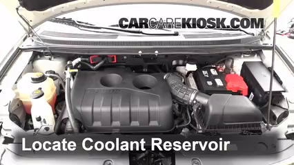 How to add coolant ford edge 2011 2014 2013 ford edge for Ford edge motor oil type