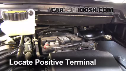 Battery Locate Part on 2013 Ford Escape Battery Jump