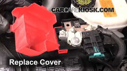 How To Clean Battery Corrosion 2010 2015 Ford Taurus