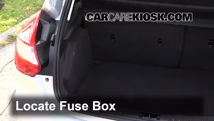 Interior Fuse    Box    Location  20122016    Ford       Focus     2013