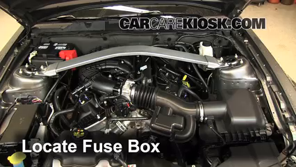 replace a fuse ford mustang ford mustang l v replace a fuse 2010 2014 ford mustang 2013 ford mustang 3 7l v6 convertible