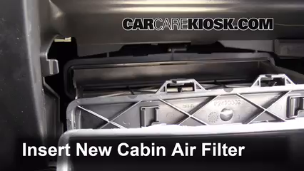 Cabin Filter Replacement: GMC Acadia 2013-2016 - 2013 GMC ...
