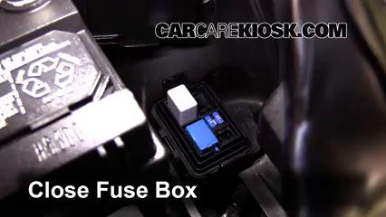 Replace a Fuse 20102014 Honda Insight 2013 Honda Insight LX – Honda Insight Fuse Box Location
