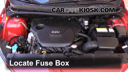 replace a fuse hyundai accent hyundai accent gls locate engine fuse box and remove cover