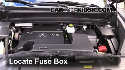 replace a fuse 2013 2013 infiniti jx35 2013 infiniti jx35 3 5l v6 infiniti jx35 fuse box location infiniti jx35 fuse box location
