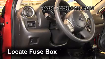 interior fuse box location: 2012-2016 nissan versa - 2013 ... 2012 nissan versa fuse diagram 2011 nissan versa fuse diagram #7