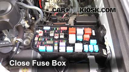 blown fuse check toyota runner toyota runner 6 replace cover secure the cover and test component