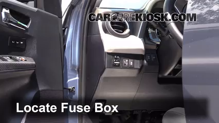 interior fuse box location toyota rav toyota interior fuse box location 2013 2016 toyota rav4 2013 toyota rav4 limited 2 5l 4 cyl