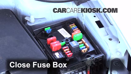 replace a fuse 2010 2014 volkswagen golf 2013 volkswagen golf 2010 vw jetta tdi fuse box 2010 Vw Jetta Tdi Fuse Box 6 replace cover secure the cover and test component