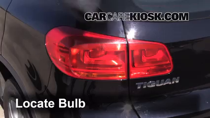 Tail Light Change 2009 2016 Volkswagen Tiguan 2013