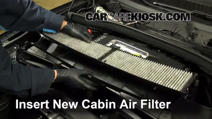 Cabin Filter Replacement: BMW X1 2013-2015 - 2014 BMW X1 ...