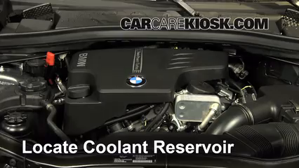 Coolant Flush How to BMW X1 2013 2015 2014 BMW X1