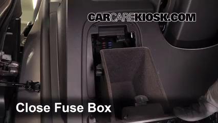 interior fuse box location 2013 2016 buick encore 2014 buick encore 1 4l 4 cyl turbo. Black Bedroom Furniture Sets. Home Design Ideas
