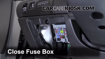 Interior Fuse Box Location 2014 2016 Chevrolet Impala
