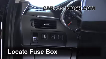 interior fuse box location 2014 2016 chevrolet impala. Black Bedroom Furniture Sets. Home Design Ideas
