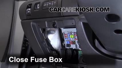 Interior Fuse Box Location: 2014-2016 Chevrolet Impala ...