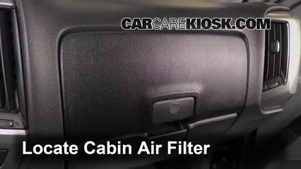 2014-2016 Chevrolet Silverado 1500 Cabin Air Filter Check ...