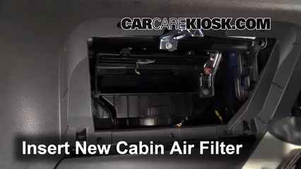 Cabin Filter Replacement: Chevrolet Spark 2013-2015 - 2014 ...
