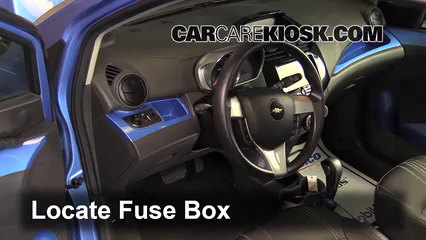 chevy spark fuse box location 2013-2015 chevrolet spark interior fuse check - 2014 ...