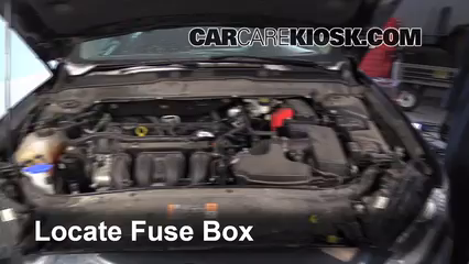2014 fusion fuse box blown fuse check 2013-2016 ford fusion - 2014 ford fusion ... #13