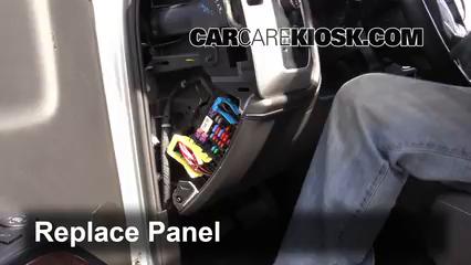 Interior Fuse Box Location 2014 2016 Gmc Sierra 1500 2014 Gmc Sierra 1500 Sle 4 3l V6