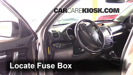interior fuse box location 2014 2015 kia sorento 2014 kia interior fuse box location 2014 2015 kia sorento 2014 kia sorento ex 3 3l v6