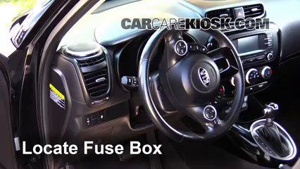 Interior Fuse Box Location: 2014-2016 Kia Soul - 2014 Kia Soul ...