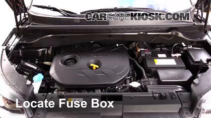 Replace a Fuse: 2014-2016 Kia Soul - 2014 Kia Soul ! 2.0L 4 Cyl.