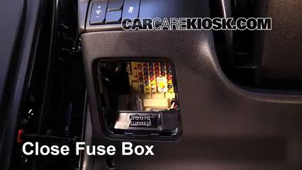 Interior Fuse Box Location  20142016 Kia Soul  2014 Kia